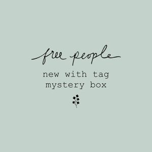 NWT Free People Mystery Box / Large priority box